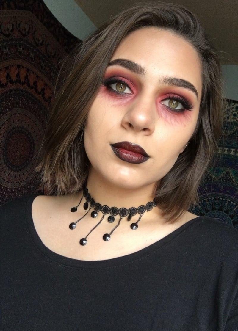 Halloween Schminken Vampir