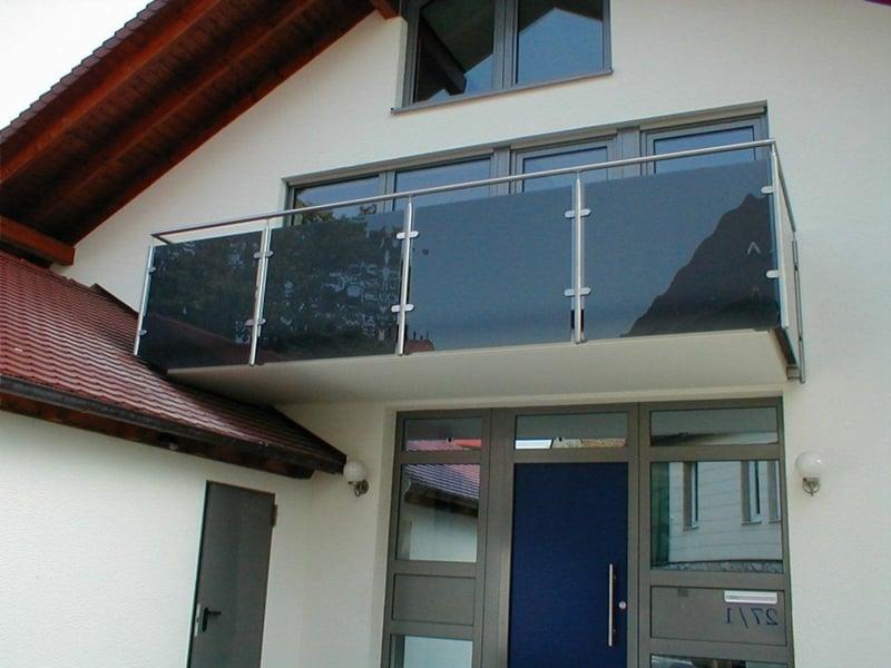 Balkonverkleideung Glas dekorativ langlebig