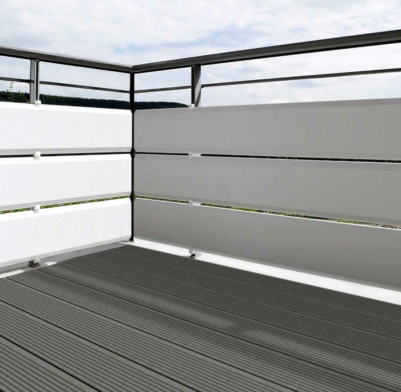 Balkonverkleidung Profilen Aluminium dauerhaft