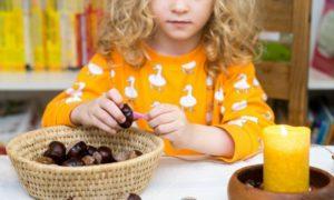 Herbstbasteln mit Kindern