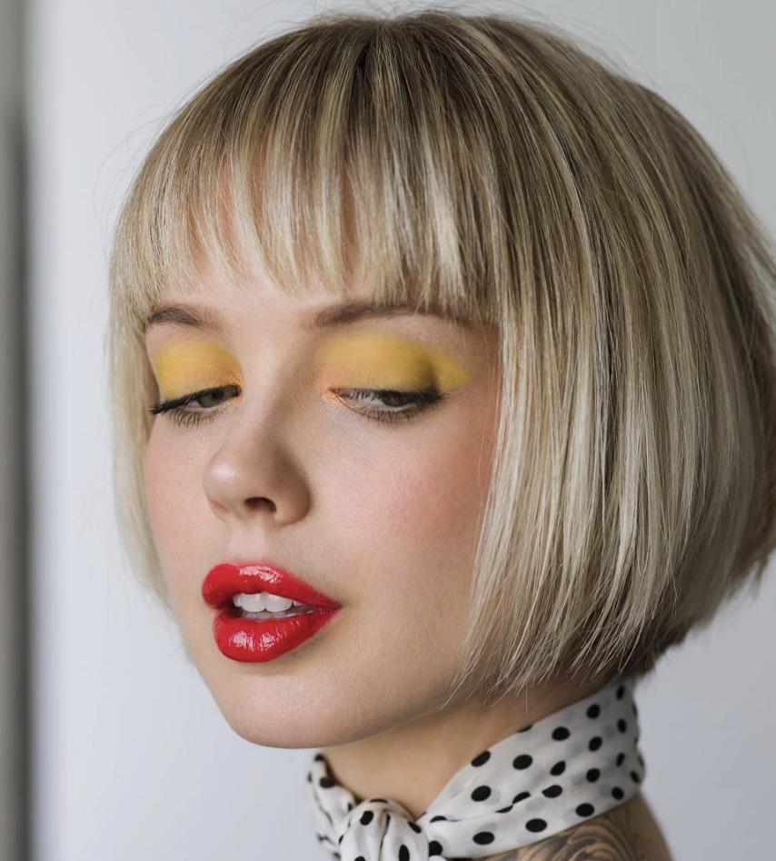 moderne kurze Frisuren Damen