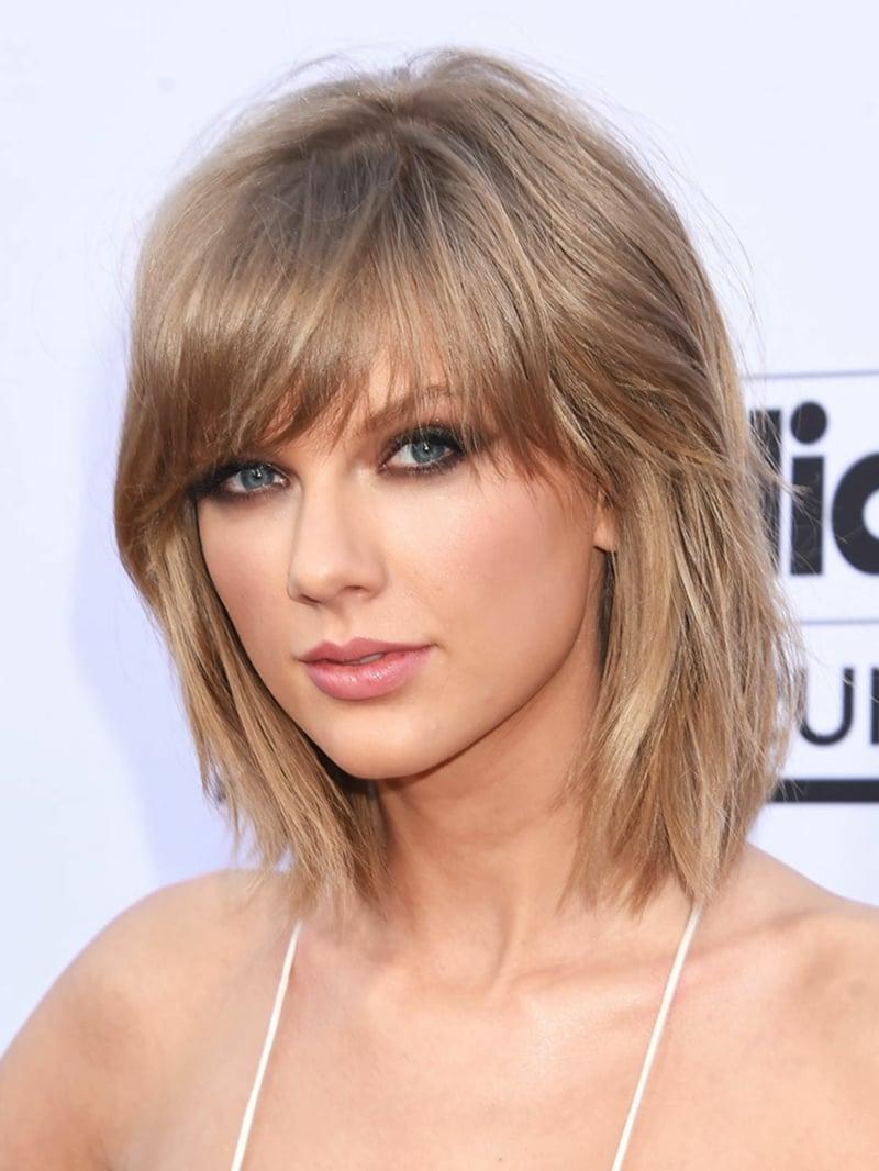 moderne Frisuren kurzes und mittellanges Haar