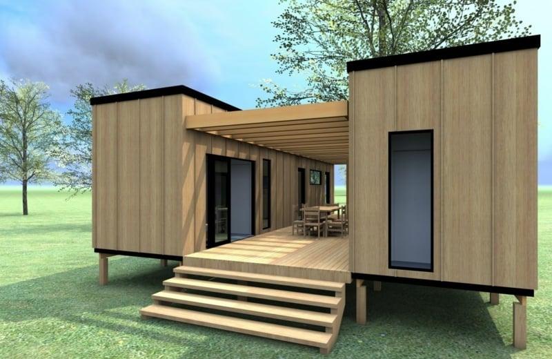 sich ein Container Haus bauen lassen
