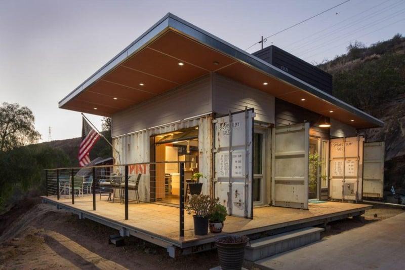 Traumhaus Wohncontainer Vorteile