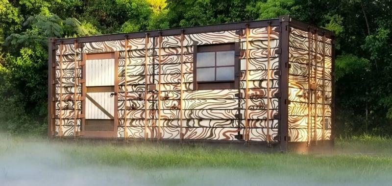 Traumhaus Wohncontainer Fassade gestalten modern