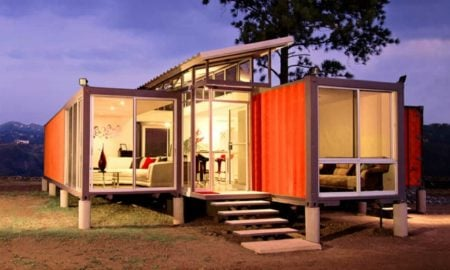 Container Haus innovative Wohnung