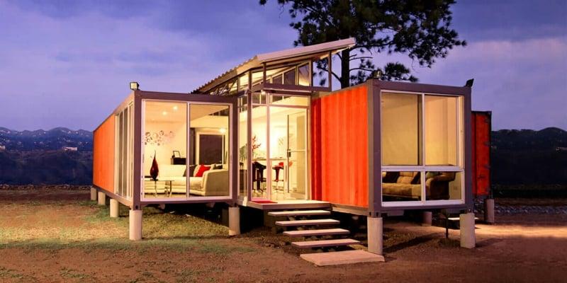 In Einem Container Haus Wohnen Welche Sind Die Vor Und Nachteile