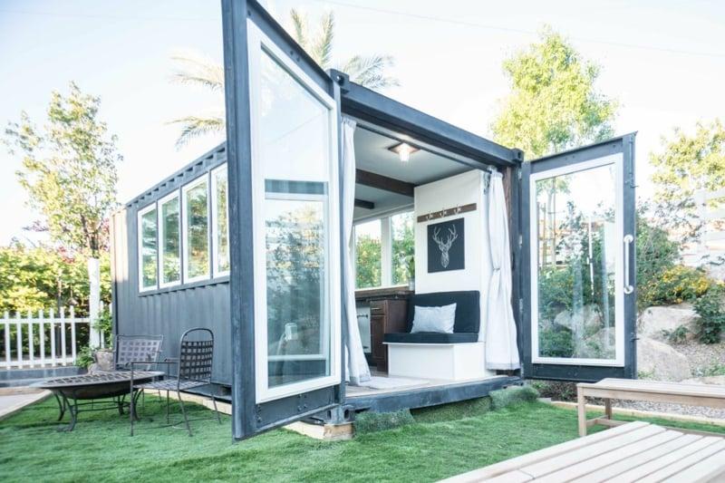 Traumhaus Wohncontainer klein mobil