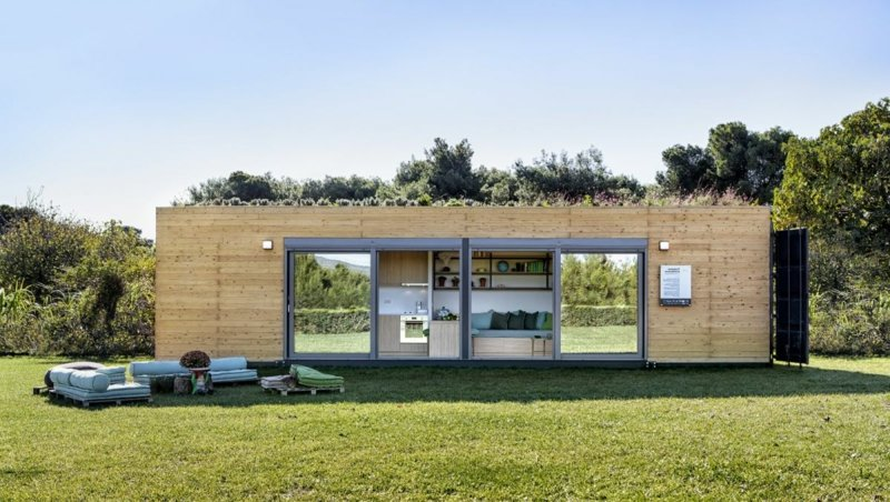 Traumhaus umweltfreundlich Wohncontainer
