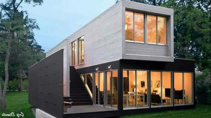 Container Haus nachhaltige Architektur