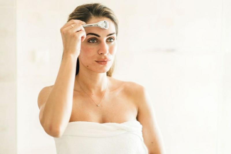 Micro Needling Hautbild verbessern