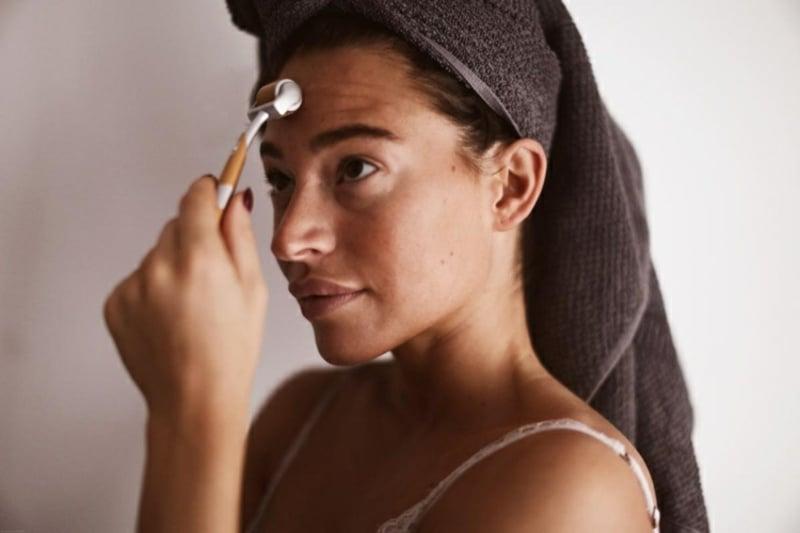 Dermaroller straffe und gesunde Haut
