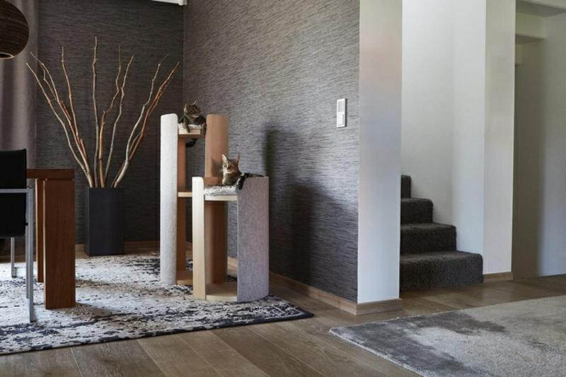 Katzenbaum Holz Designer