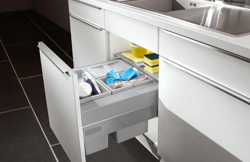 Einbau-Abfalleimer modern praktisch Küche