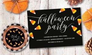 Einladungskarte Halloween kreative Ideen und Anregungen