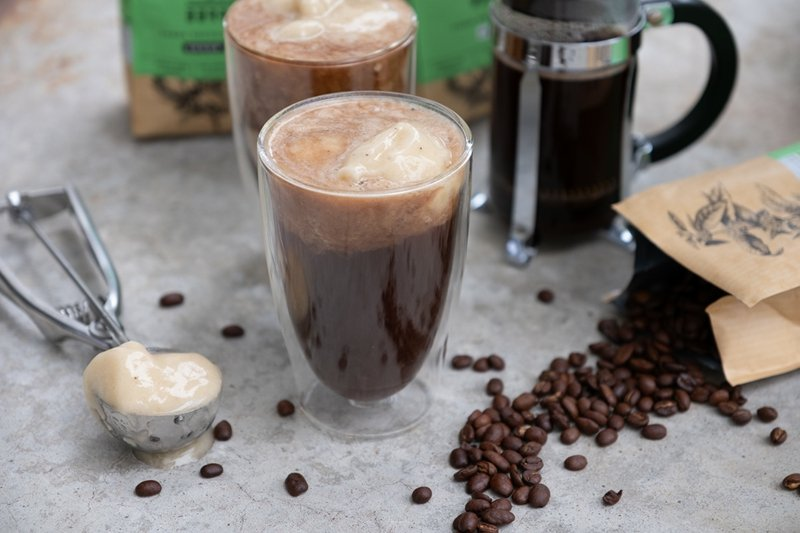 Kaffee kalt servieren Sommer