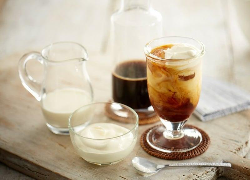 Kaffee kalt Sommer notwendige Zutaten