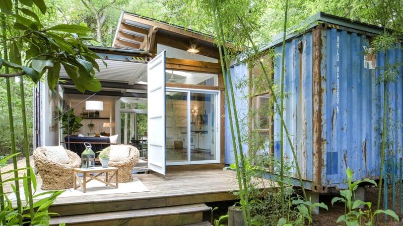 Traumhaus Wohncontainer umweltfreundlich nachhaltig