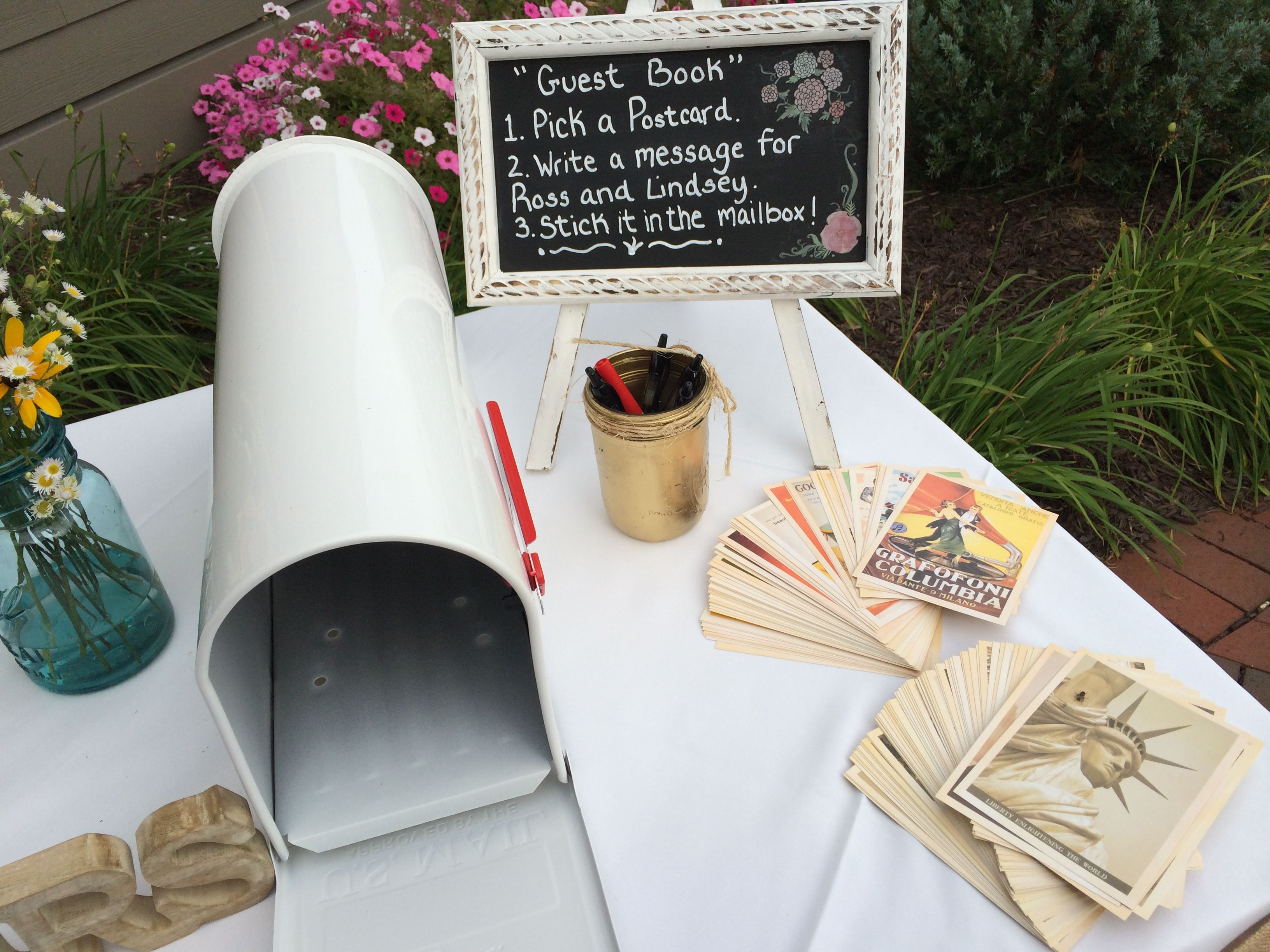 Gästebuch Hochzeit Briefkasten
