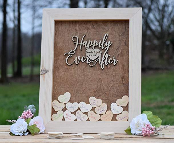 Gästebuch Hochzeit Mosaik originelle Idee