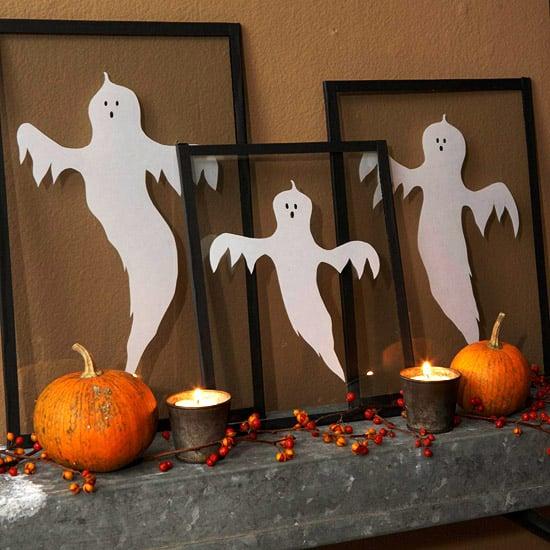 Halloween Deko selbstgemacht Geister