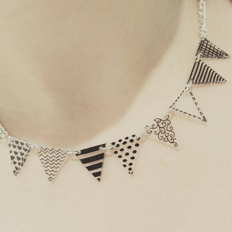 Halskette Girlande wirklich stilvoll