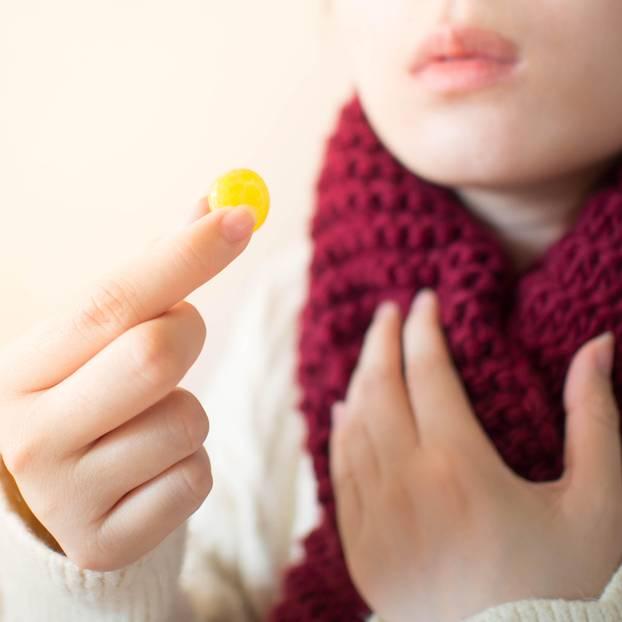 Halsschmerzen bekämpfen Lutschtabletten