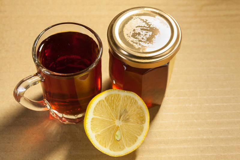 heißes Getränk Zitrone Honig