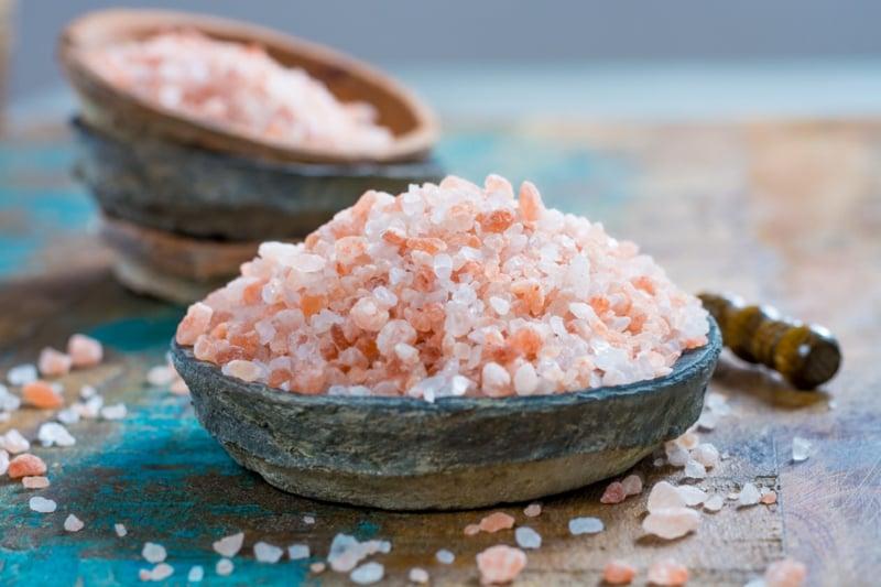 rosafarbenes Steinsalz Wirkung aus die Gesundheit