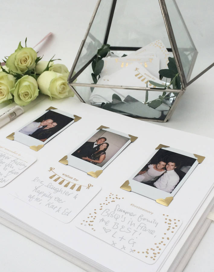 Hochzeitsbuch mit Fotos gestalten