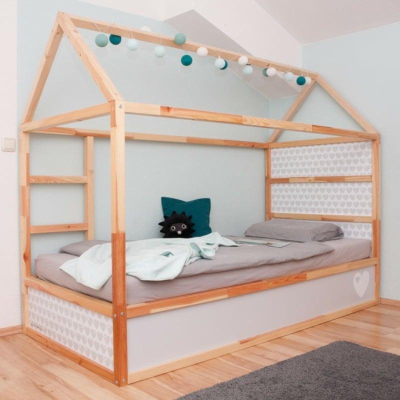 Kinderbett umgestalten originelle Idee