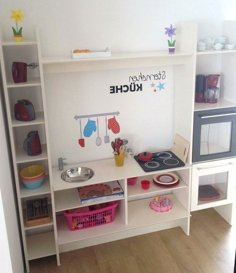 Spielküche selber machen Kinderzimmer