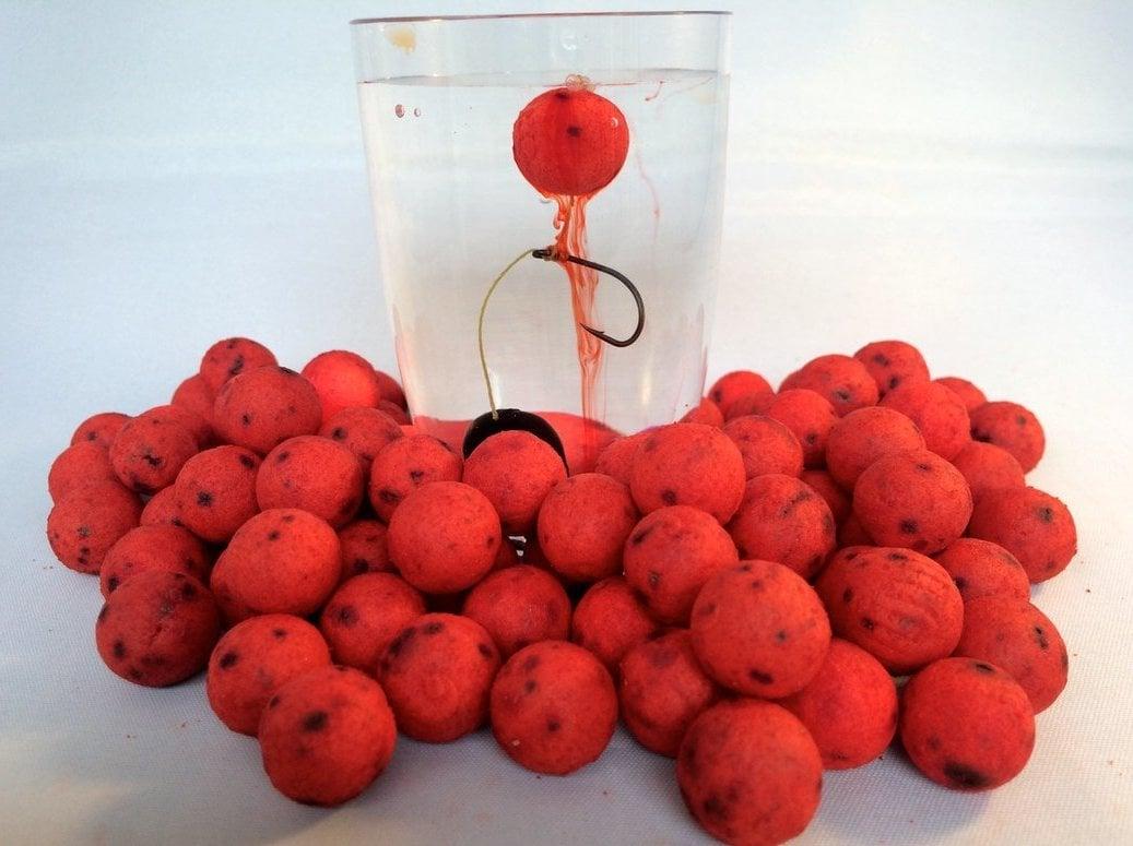 Karpfenangeln mit Erdbeer Boilies