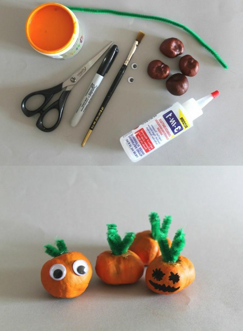 DIY Deko Halloween Ideen und Anregungen