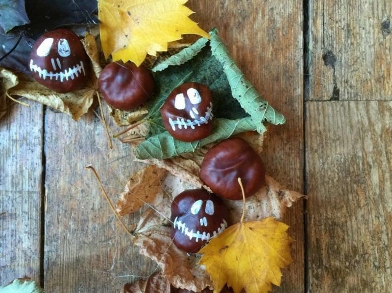 Bastelideen kreativ Halloween