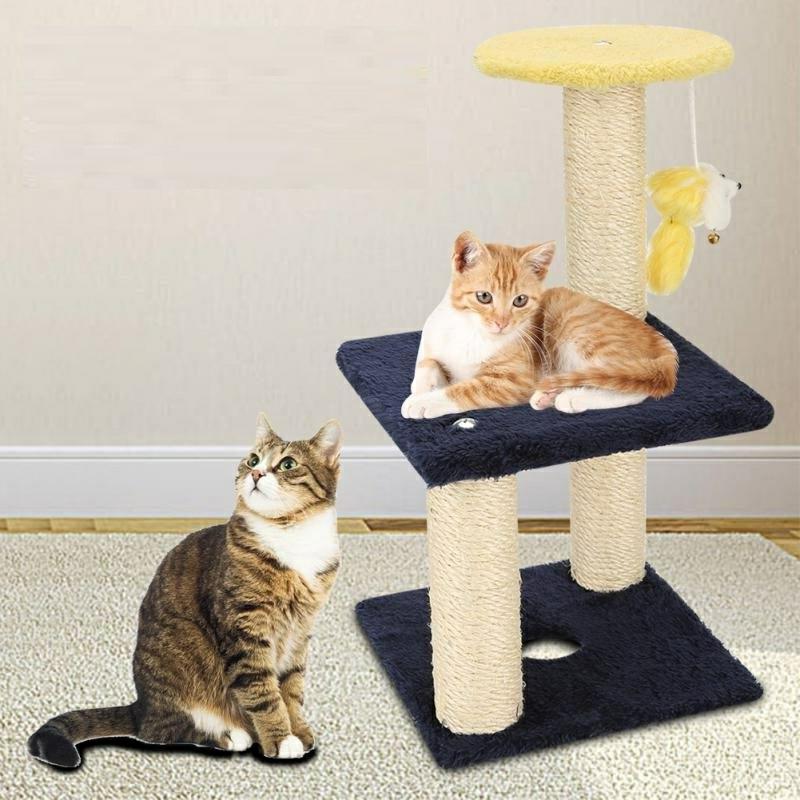Katzenbaum selber bauen Ideen und Anregungen