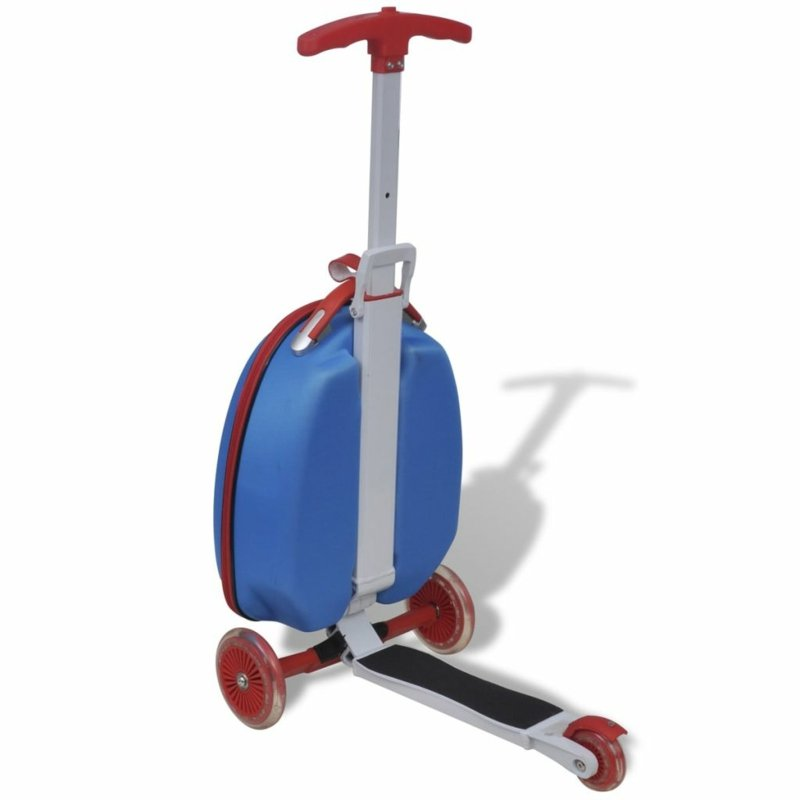 Kinderkoffer Scooter originell