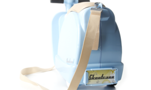 Kinderkoffer Trolley blau Junge