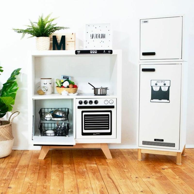 IKEA Hacks Kinderzimmer Spielküche machen Kallax Regal