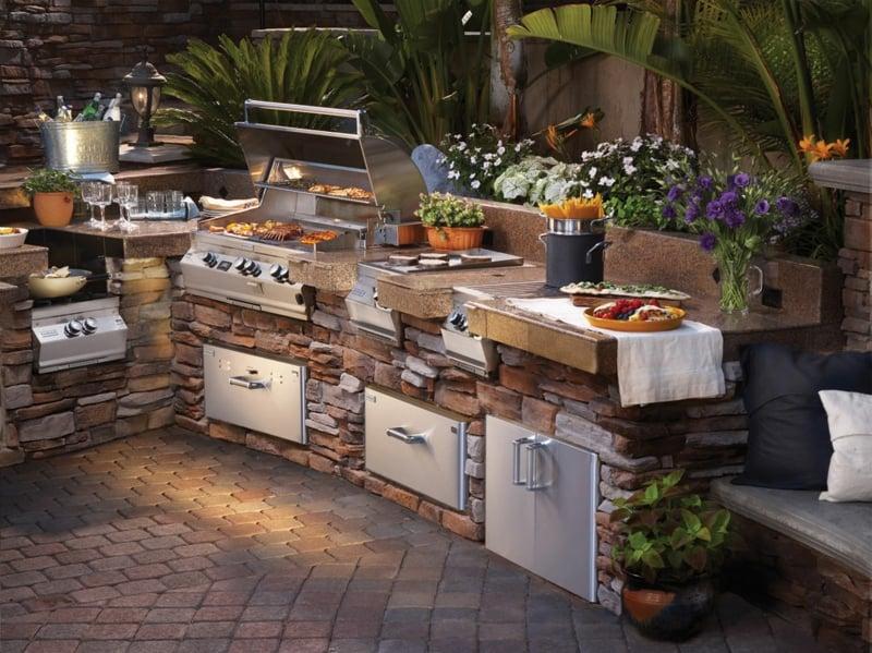 Outdoor Küche einrichten hilfreiche Tipps