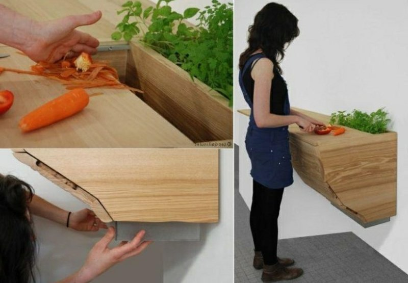 Küchenabfall organische Reste recyceln