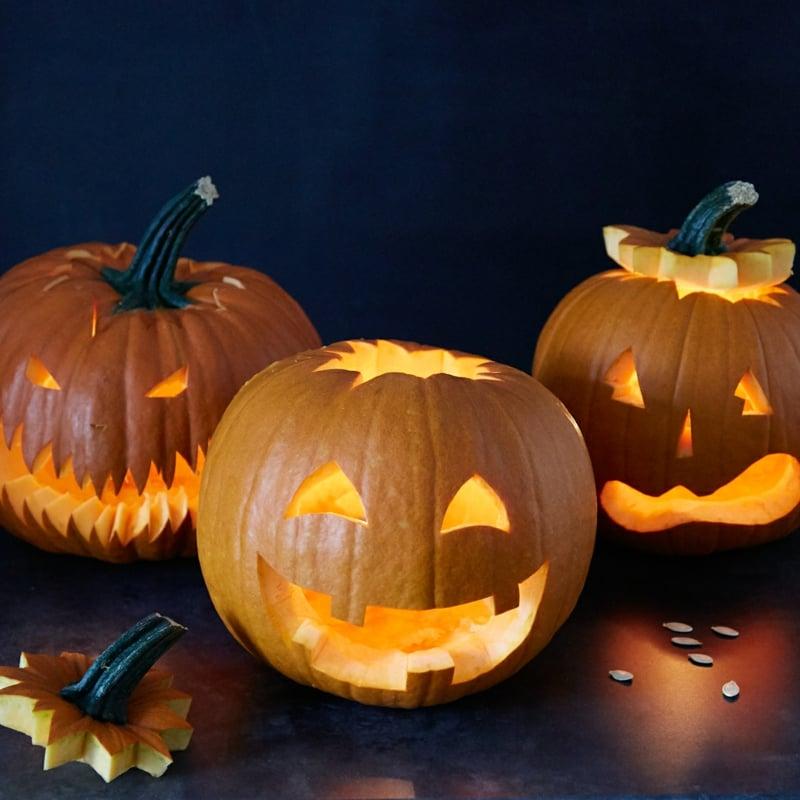 tolle Kürbislaternen Deko Halloween