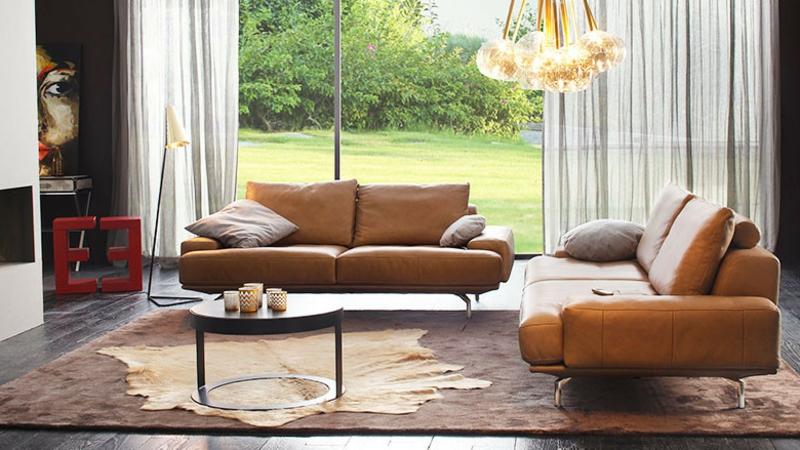 Sofa mit Lederpolsterung Pflegetipps
