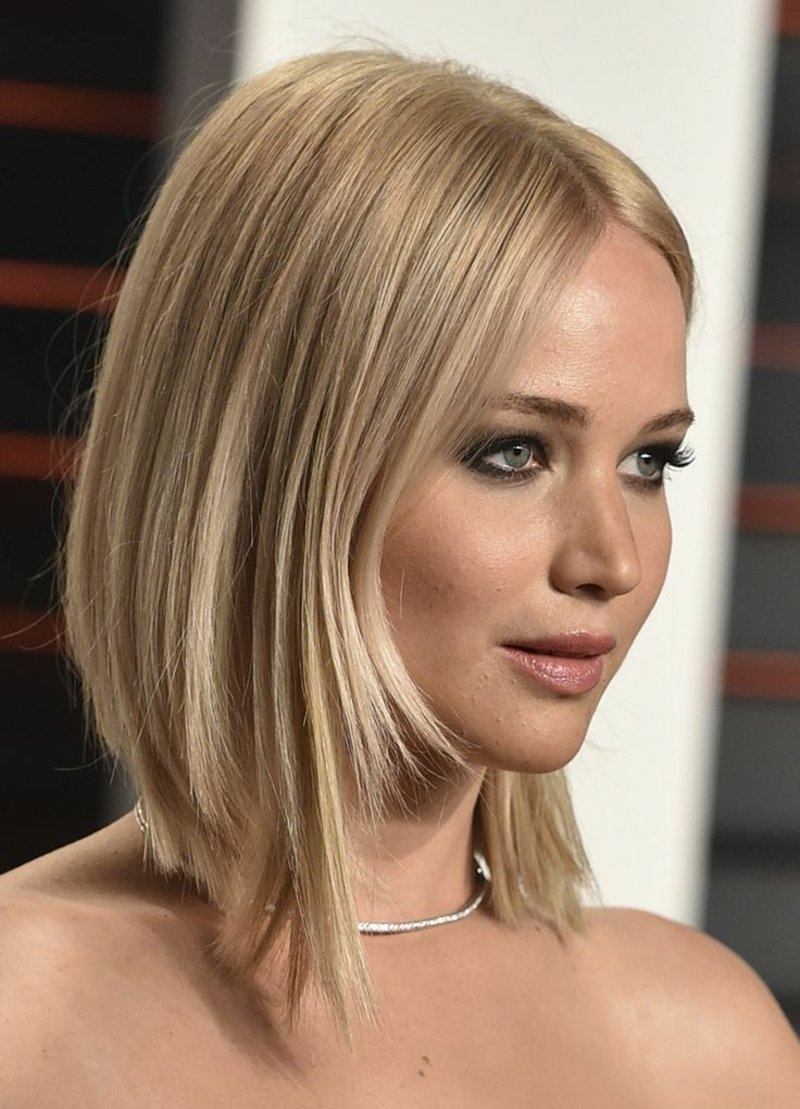 Frisuren für mittellanges Haar Jennifer Lawrence