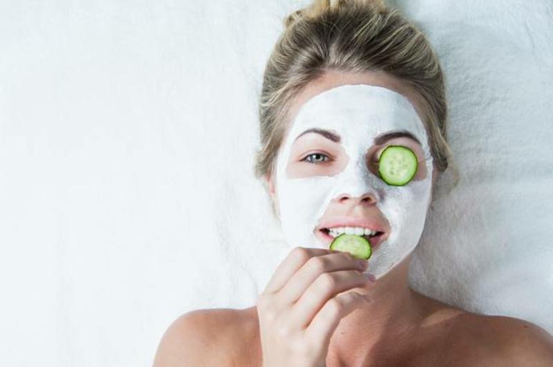 Maske mit Joghurt und Fruchtsäure DIY
