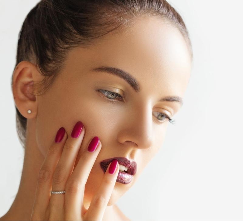 Micro Needling Effekt Haut