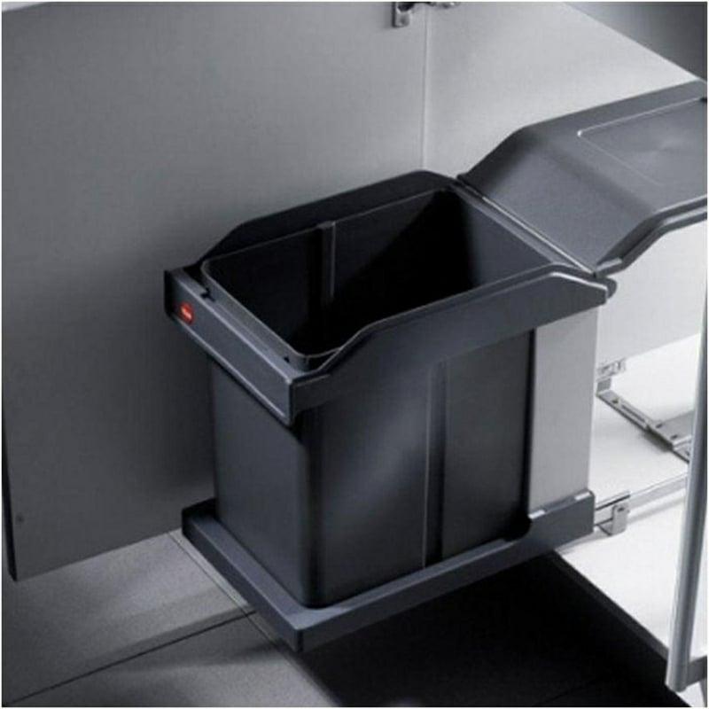 Mülleimer Küche Metallcontainer mit Decke