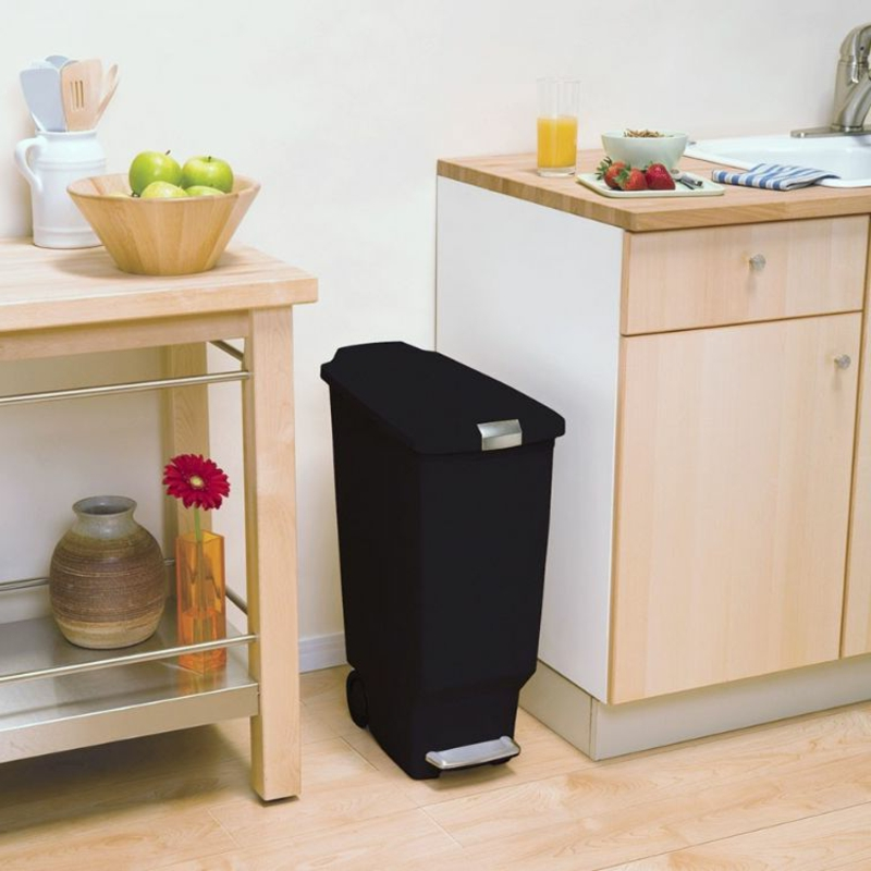 Mülleimer Küche auf Rollen funktional