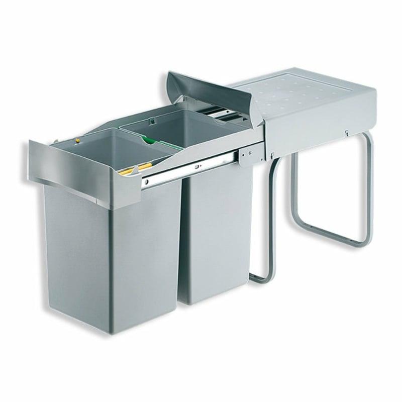 Mülleimer Küche mit Einbaumechanismus Metall