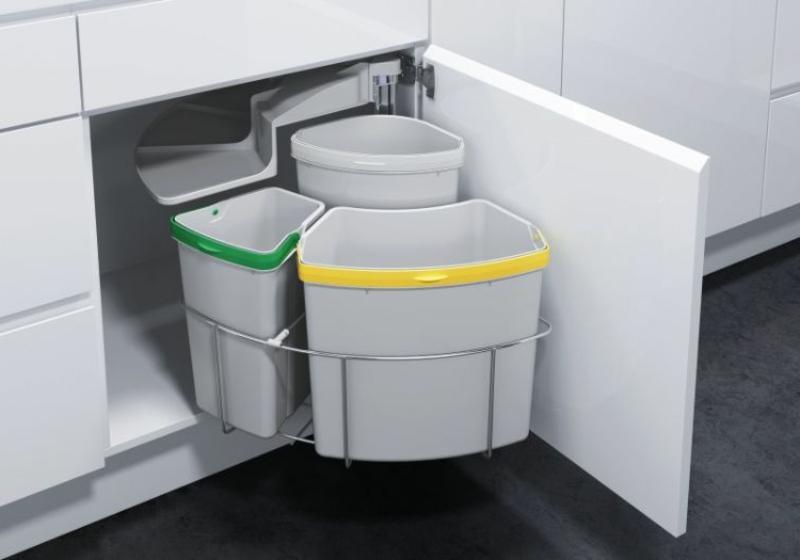 Mülltrennung Küche Einbaueimer